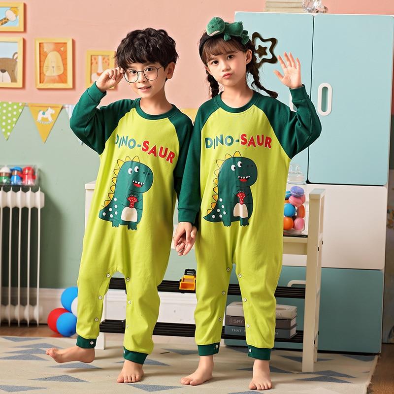 Kids Onesie Pajamas For Baby Boys Sleepwear Cartoon Blanket Sleepers Baby Costumes Winter Boys Girls Clothes Kigurumi Jumspuits