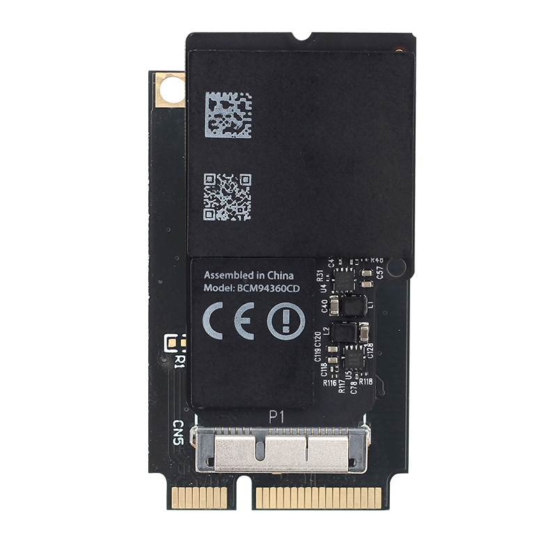2.4G/5G Wifi Card BCM94360CD 1300Mbps Wireless Adapter For Mini PCI-E Converter 802.11ac Bluetooth 4.0 MacOS For IMAC