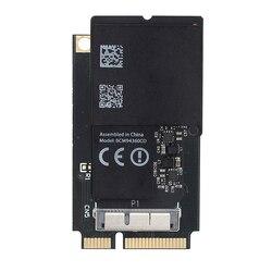 Karta Wifi 2.4G/5G BCM94360CD Adapter bezprzewodowy 1300 mb/s do konwertera Mini PCI-E 802.11ac Bluetooth 4.0 MacOS do komputera iMAC