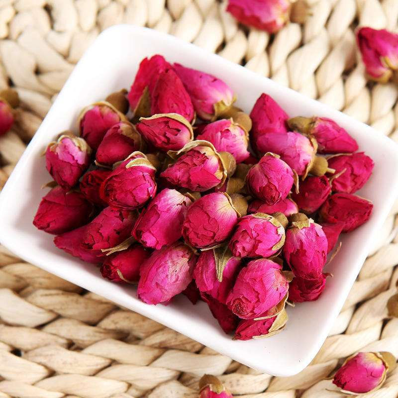 2020 High Quality Pingyin Rose Flower Herbal Tea, Natural Organic Red Rose Buds Blooming Herbal Tea Health Care 1