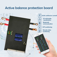 1A/2A Acactive BMS Li ion Lifepo4 bateria 13S 24S Balancer płyta ochronna inteligentny Bluetooth komunikacja CAN/RS485