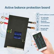 1A/2A Acactive BMS ليثيوم أيون Lifepo4 بطارية 13S 24S لوح حماية الموازن ذكي بلوتوث يمكن/RS485 الاتصالات