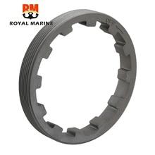 688 45384 anel de bloqueio porca externo para yamaha motor de popa 2t 50 140hp ou 4t F45 F115 parsun t85 t90 motor 688 45384 00