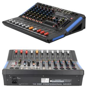 Image 5 - LOMOEHO AM 08 4 Mono + 2 Stereo 8 Kênh Bluetooth USB Giao Diện Máy Tính Kỷ Lục Phantom 48V Chuyên Nghiệp DJ Trộn Âm Thanh
