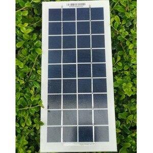Монокристаллическая солнечная панель 6 в 4 Вт 8 Вт 12 Вт 16 Вт 20 Вт 24 Вт 6 В, портативная солнечная батарея, зарядное устройство для телефона, игру...