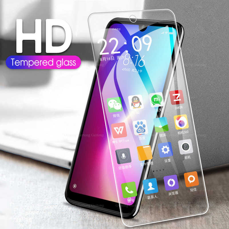 التغطية الكاملة الزجاج المقسى ل Xiaomi MiA3 Mix2s HD فيلم ل Redmi 7 7A ملاحظة 7 8Pro 9H واقية المضادة للصدمة واقي الشاشة