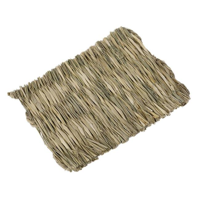 Rabbit Grass Chew Mat Small Animal Hamster Guinea Pig Cage Bed House Pad 3