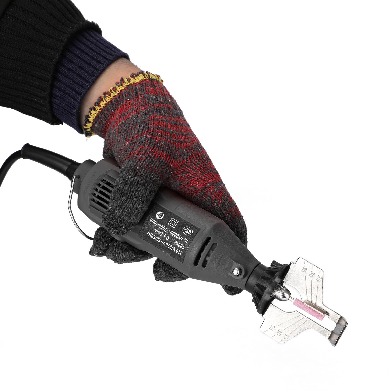 moedor elétrico afiar potência mini polimento conjunto