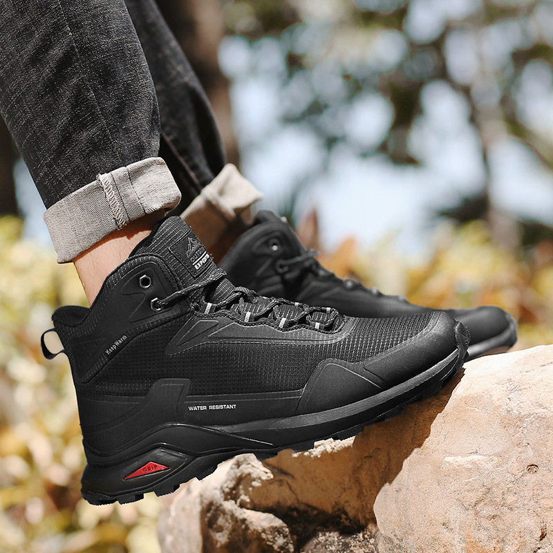 New Large Size High-top Hiking Shoes