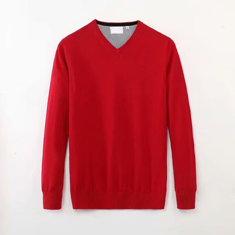 Men Crocodile V-neck Cotton Sweater Autumn Winter Jersey Jumper Hombre Pull Homme Hiver Pullover Men Knitted Sweaters