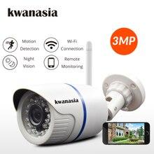 1080P كاميرا شبكية عالية الوضوح كاميرا أمان لاسلكية 3MP 720P في الهواء الطلق رصاصة مراقبة لاسلكية كاميرا مراقبة أي بي المنزل واي فاي CCTV Onvif Camara Camhi