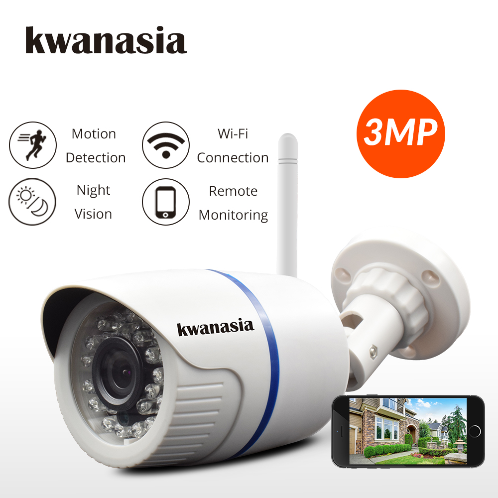 1080P HD IP Camera WiFi Security Camera 3MP 720P Outdoor Bullet Wireless Surveillance IP Cam Home Wi Fi CCTV Onvif Camara Camhi