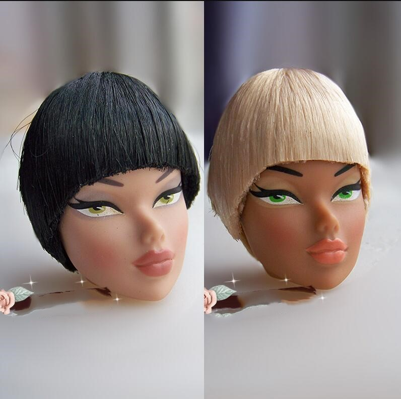 Rare FR IT Doll Heads Original Doll Heads French Sexy Doll Head Parts Collection Doll Toy Part Collection Doll Head Toy
