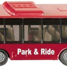 Linienbus, Metall/Kunststoff, Rot, Vielseitig einsetzbar, Spielzeugfahrzeug fr Kinder