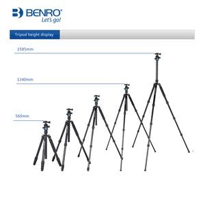 Image 5 - Benro iF18C+ Tripod Carbon Fiber Portable Reflexed Monopod Camera Stand For DSLR Carrying Bag Max Loading 10kg