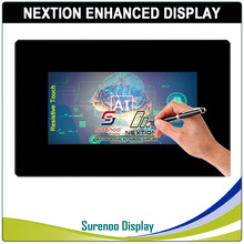 "7.0 ""Nextion تعزيز HMI USART UART المسلسل TFT وحدة عرض LCD مقاوم لوحة سعوية تعمل باللمس ث/الضميمة"