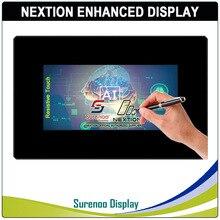 "7,0 ""Nextion Verbesserte HMI USART UART Serielle TFT LCD Modul Display Resistiven Kapazitiven Touch Panel w/Gehäuse"