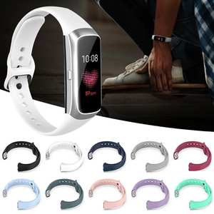 Band Strap Watch-Strap-Accessories Smart-Bracelet Fit-Sm-R370 Sport-Watch Silicone Samsung Galaxy