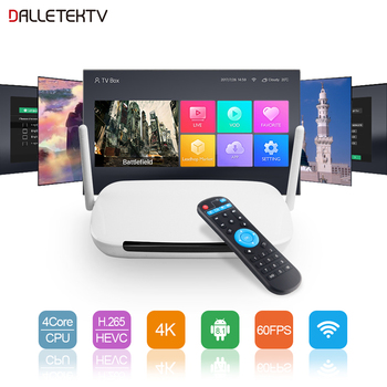 Leadcool Q9 TV Box Android 8.1 Set Top Box RK3229 2.4G Wifi 4K Media Player H.265 1G/8G 2G/16G 2 Year Warranty Android TV box