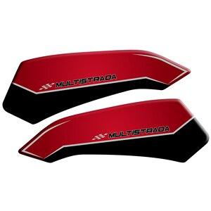 Image 4 - Motorcycle 3D Gel fuel oil Tank Pad Protector Sticker Fish Bone Sticker for DUCATI Multistrada 1200 1260 ENDURO decorative decal