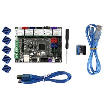 Mks Gen L Motherboard Kit with 5x TMC2208 V1.2+Heat Sink Set for 3D Printer New Arrival