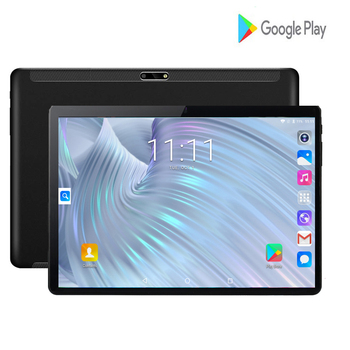 2020 New Design 10 inch Tablets Android 7.0 OS 2GB + 32GB ROM Dual Camera 8MP SIM Tablet PC Wifi GPS 3G Mobile Phone Pad 10.1 1
