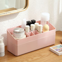 Multi-Functional Table Jewelry Cosmetic Storage Box Double Layer Makeup Holder Box With Drawer Desk Stationery Organizer Box цена