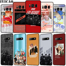 ATEEZ KPOP Soft Silicone Phone Case for Samsung Galaxy S10 E S9 S8 Plus S6 S7 Edge S10e TPU Black Cover(China)