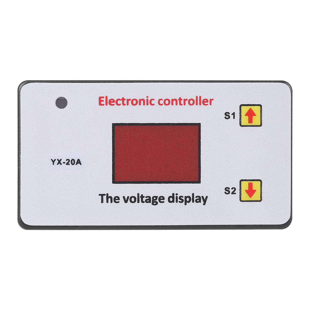 12V Electronic Controller Battery Low Voltage Cut off Automatic Switch On Protection Undervoltage Protection Controller Switch
