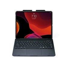 Caso de teclado sem fio bluetooth para apple ipad pro 12.9 polegada 2020 a2233 a2229 a2232 a2069 touchpad capa proteção
