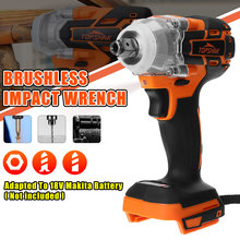 Wrench-Power-Tool Impact-Wrench Led-Light Electric Topshak Brushless Cordless Rechargeable