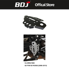 BDJ Motorcycle Right Frame Guard Cover CNC Aluminum Motor Protection For BMW F800 GS F700 F650GS 2008-2015