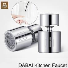 Youpin DABAI Küche Wasserhahn Belüfter Wasser Diffusor Bubbler zink legierung Wasser Saving Filter Kopf Düse Tap Stecker Doppel Modus