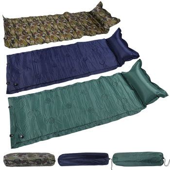2020 własny pompowania Camping karimata łóżko nadmuchiwana poduszka materac dmuchany torba podkładka kempingowa mata na plażę i piknik piasek mata Z25 tanie i dobre opinie CN (pochodzenie) Automatyczne nadmuchiwane Obóz 32880470091 M41179 Wbudowana pompa inflator Oxford Outdoor Picnic Foldable Mat