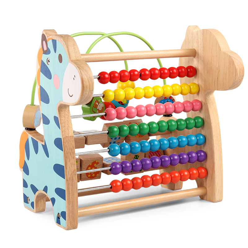 Bead-stringing Toy Treasure Chest Children'S Educational Toy 1-3 Early Childhood Baby Girls Beaded Bracelet 0-2 One-And-a-Half-Y