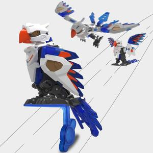 Image 3 - XIAOMI MIJIA 52 おもちゃユニバーサルシリーズ計画オウム動物モデルのおもちゃアクションフィギュア変形ロボット 5 センチメートルキューブ子供のギフト