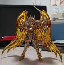 Grandes brinquedos sagitário aiolos sog ex, figuras de ação de brinquedo, metal, armadura de ouro