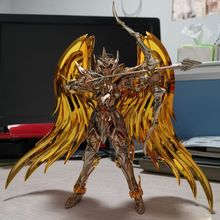 Great-Toys Armor Soul Sagittarius Metal Gold SOG In-Stock of Aiolos Ex