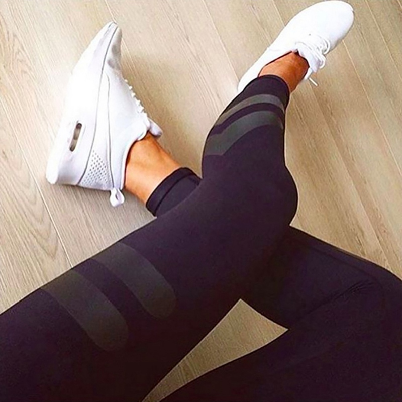 Women Slim Fit High Waist 2019 Solid  Sports Pants Concise Solid Color Casual Quick Dry Fitness Pants Leggings