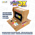 2020 Wooden mini arcade bartop Pandora Box DX 3000 in 1 DIY User self-installation can save game progress 3P 4P game 3D tekken