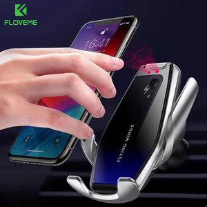 Image 3 - FLOVEME soporte de teléfono inalámbrico para iPhone 11 Pro Max, 7, 8, 11, Samsung S10, S9, S8, soporte de teléfono para coche