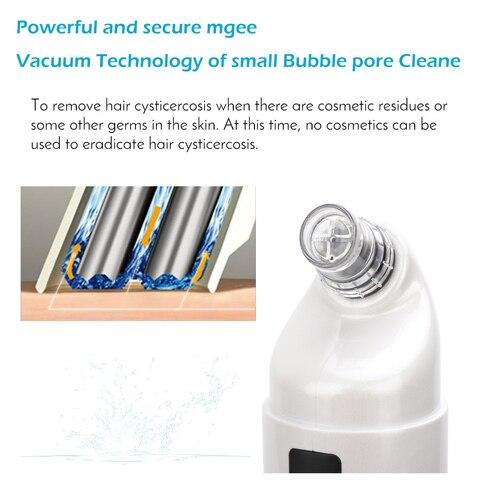 nova pequena bolha aspirador de agua ciclo