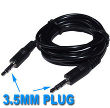 DHL/EMS 100X3.5 MM Spina Maschio A Maschio della cuffia altoparlante MP4 Cable A8