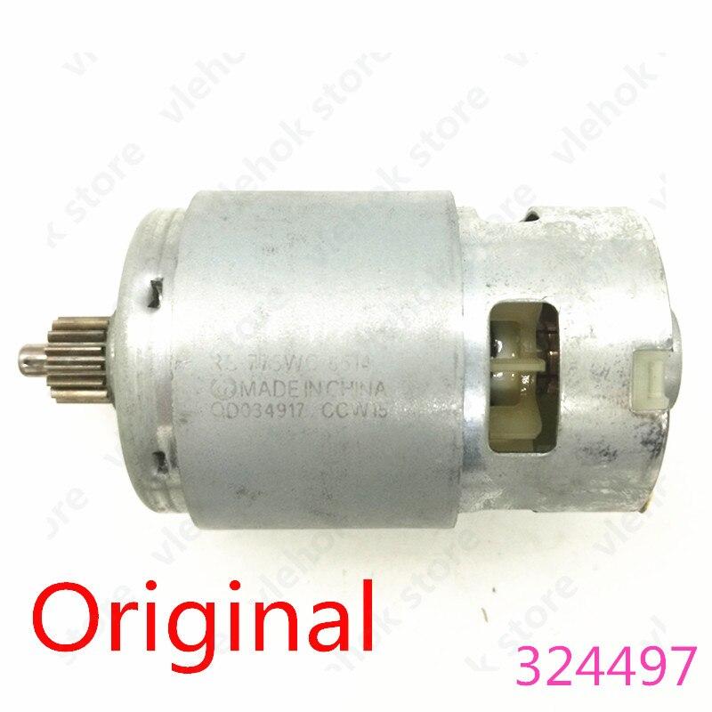 Aletler'ten Elektrikli Alet Aksesuarları'de Motor 324497 324 497 DC18V HITACHI DS18DVF3 DS18DFL DS18DFL (PC) DS14DFLPC akülü matkap tornavida tornavida güç aracı parçası