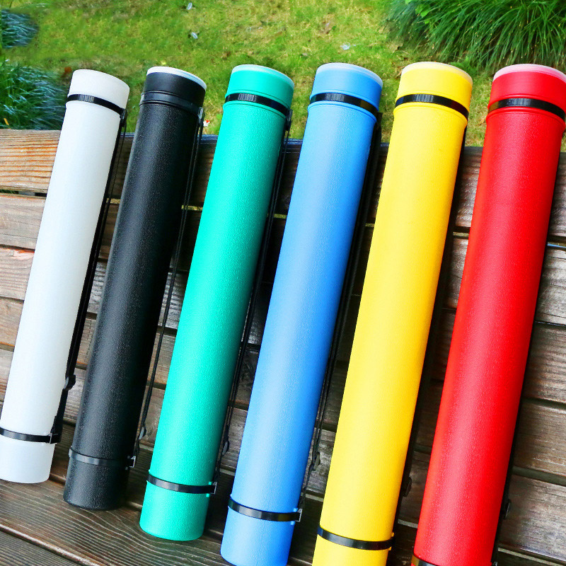 Art Supplies Color Thickened Stretch Leather Print Cylinder Multi Color Optional Art Supplies Drawing Cylinder Collection Utilit