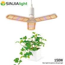 החדש LED לגדול אור ספקטרום מלא צמח Phytolamp אדום + כחול + חם לבן גידול מנורת הנורה עבור פרחי שתיל מקורה Fitolamp