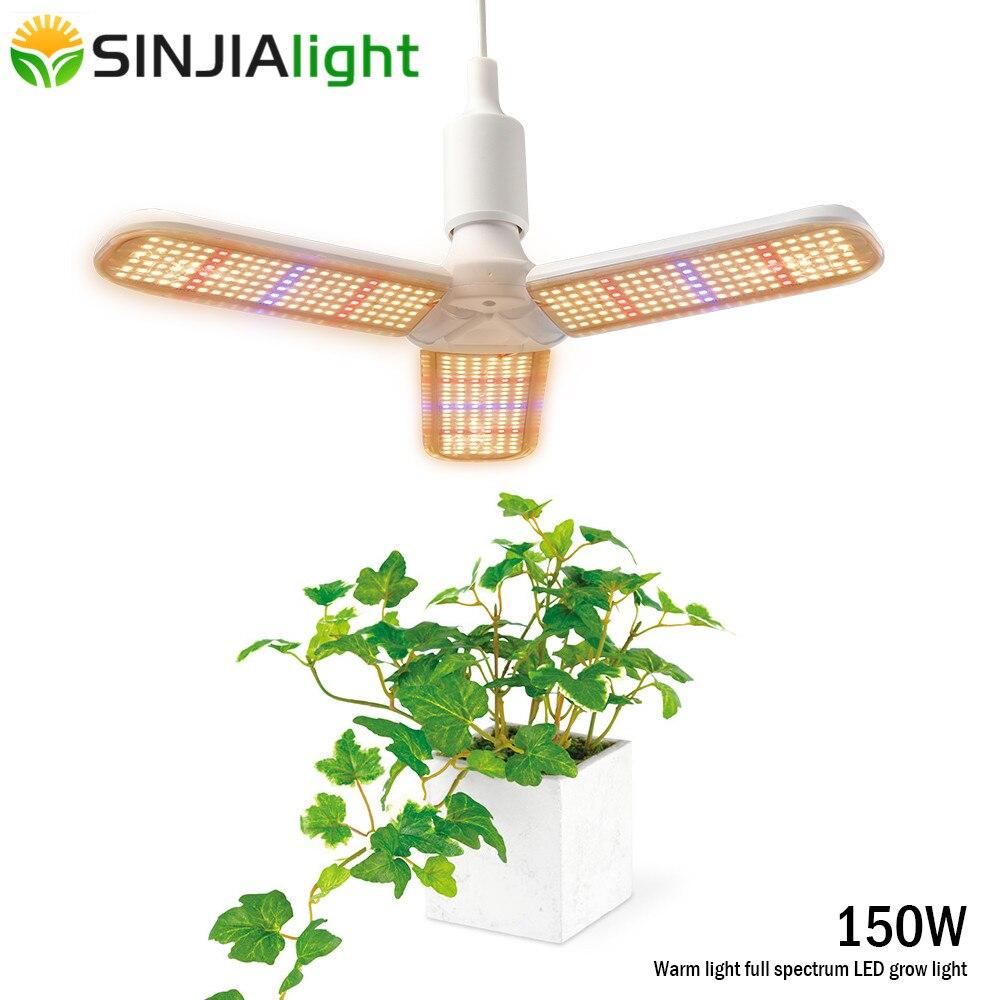 225 LED Grow Light Full Spectrum Hydroponic Indoor Flower Plant Lamp Panel Fi