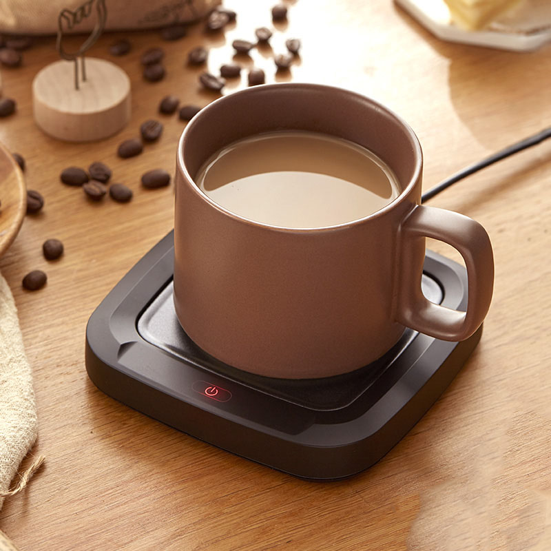 Coffee Cup Mug PTC Heating Pad Warmer For Office Home Desktop Using Electric Beverage Warmer Plate For Cocoa Tea Water Milk