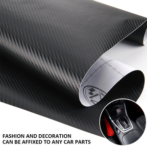 Image 5 - 3D Carbon Fiber Vinyl Car Wrap Sheet Roll Film Car Stickers and Decal Motorcycle Auto Styling Accessories Automobiles 60cmx200cm