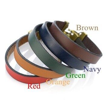 цена на 5PCS/SET Blank Engraved Bracelet DIY Bangle Laser Lettering Leather Bracelets Handmade Engraved Jewelry Accessories Women Gifts